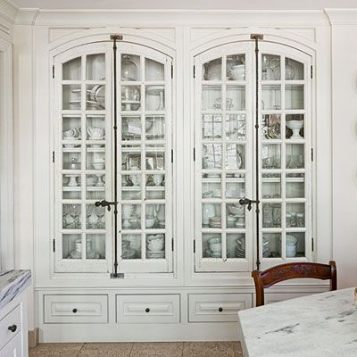 What?  Another  cabinet  with arched doors?  Heaven