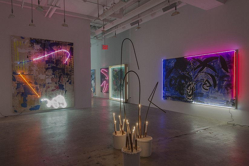 Installation View at  Mike Weiss Gallery