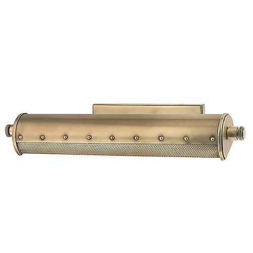 Gaines Picture light in aged brass