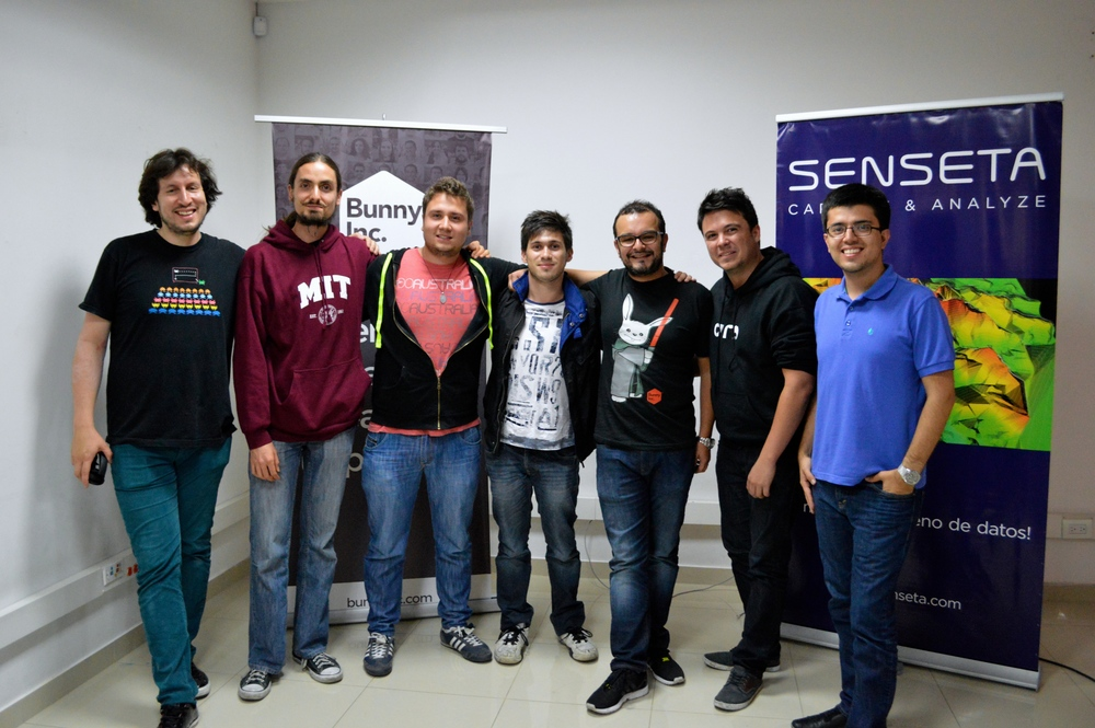 Alex Torrenegra, Sebastian Ramirez, Christian Zuluaga, Juan Camilo Rodriguez, Omar Duque, Hernan Aracena and Andrés Barreto.