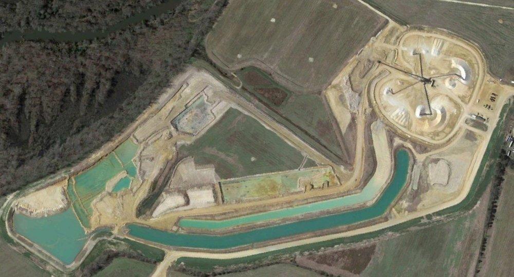 King William Sand & Gravel,  Queenfield Mine, Manquin, Virginia