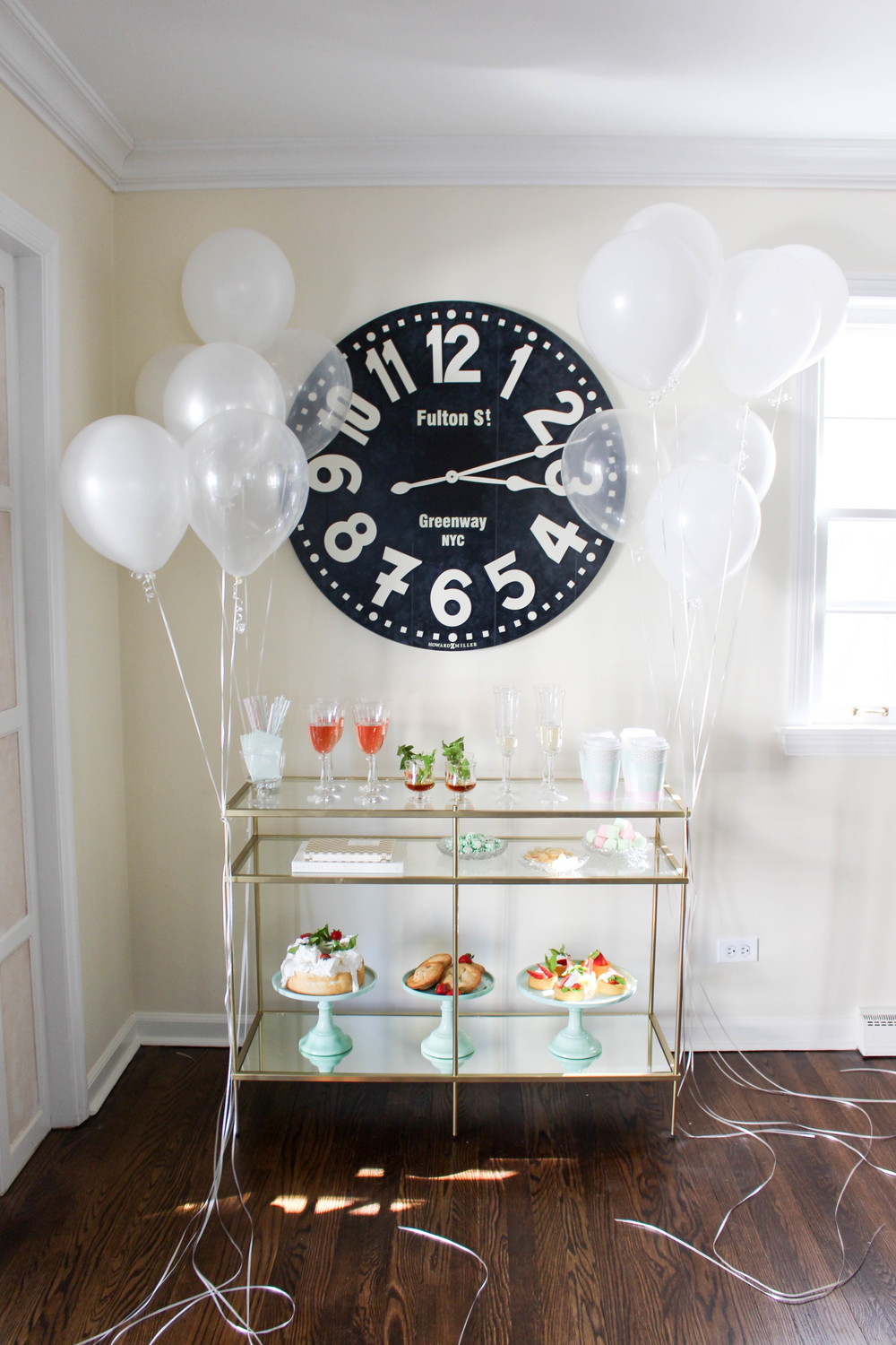 Martha Stewart Brunch Bar Cart
