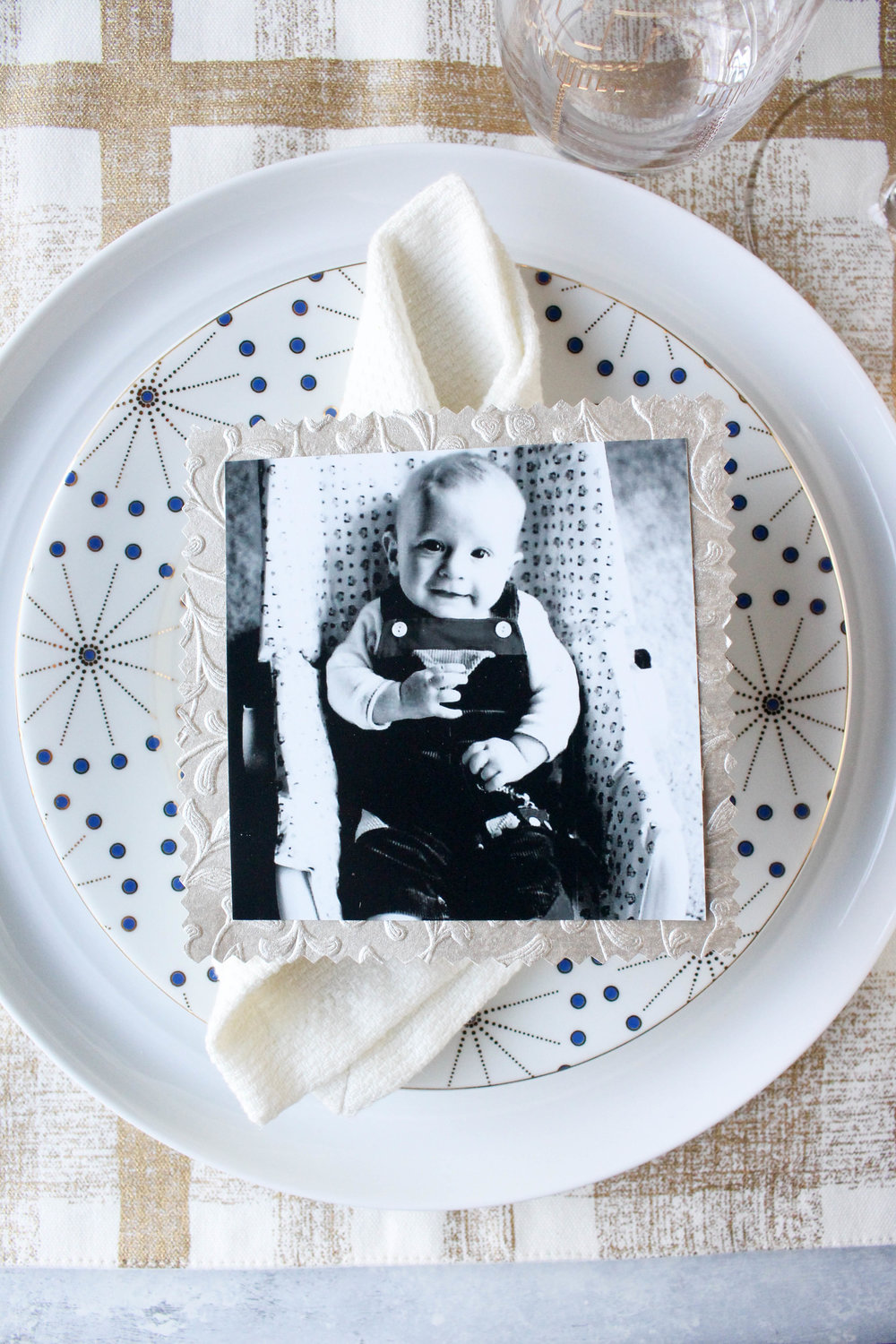Martha Stewart TBT Place Setting