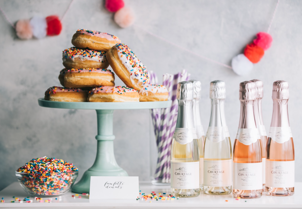 Donut Bar on Martha Stewart