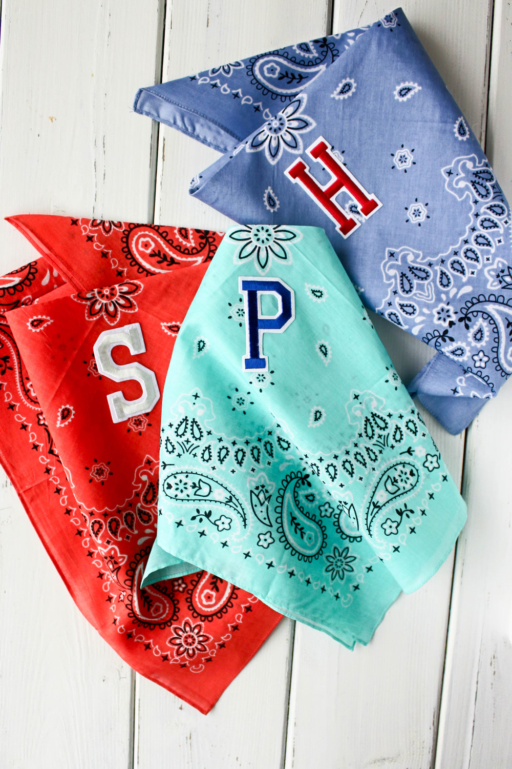 Monogram Dog Bandanas