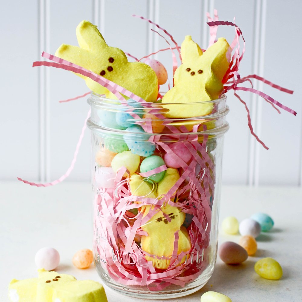 Ball Jar Easter Basket