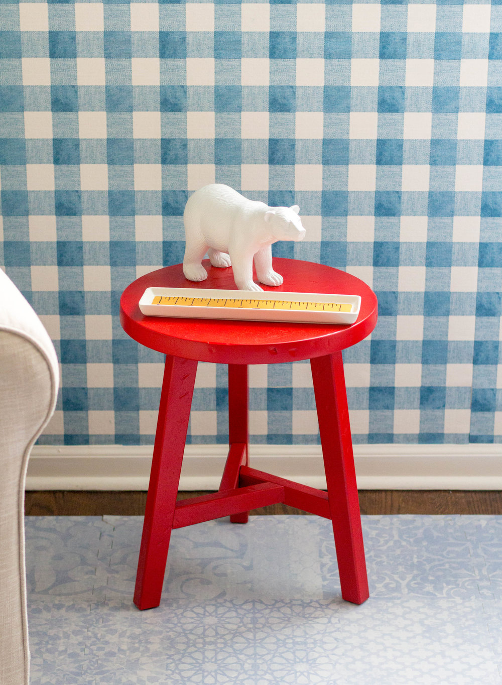 DIY Table and Bear
