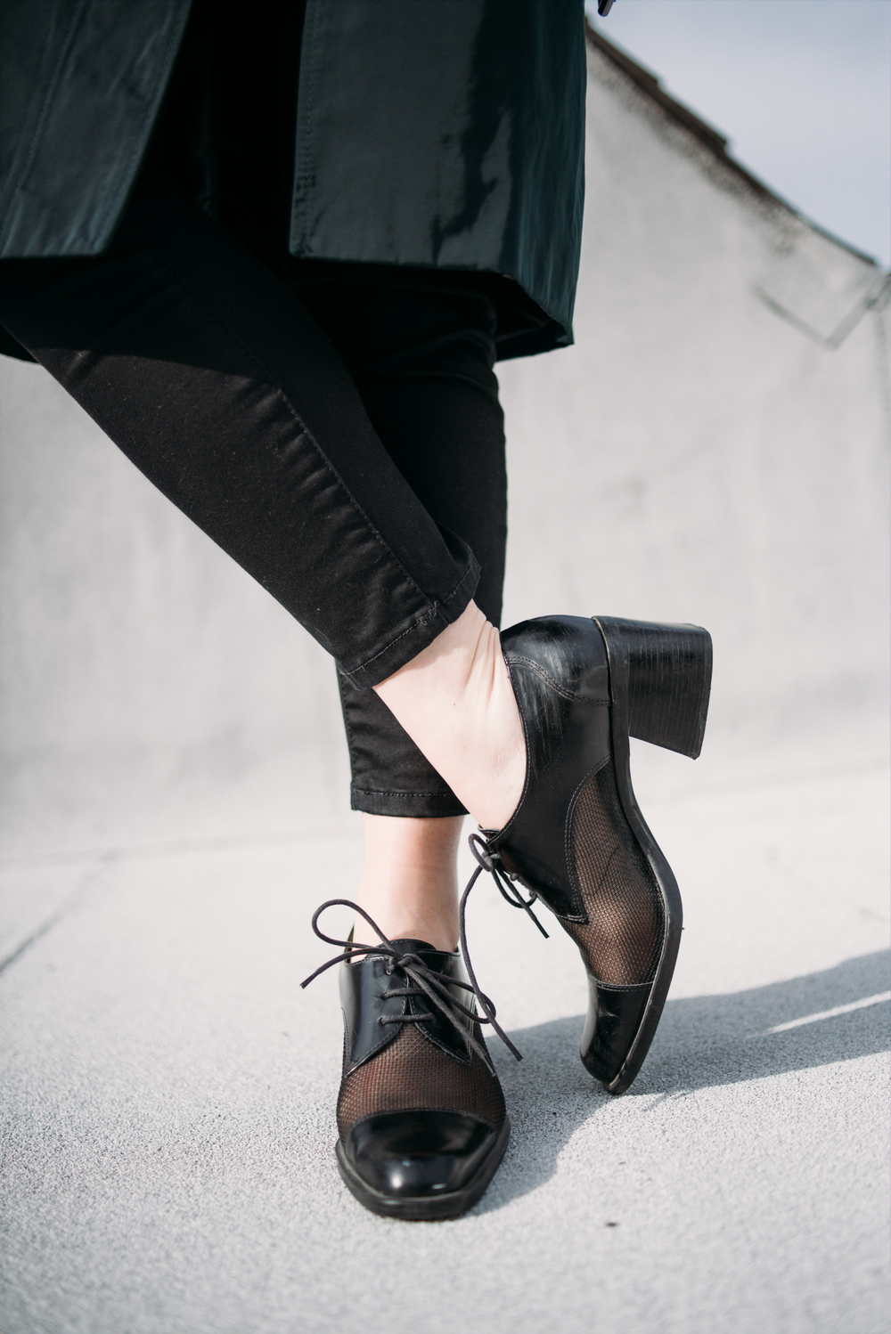 melissademata.com | Vintage Nine West Oxfords