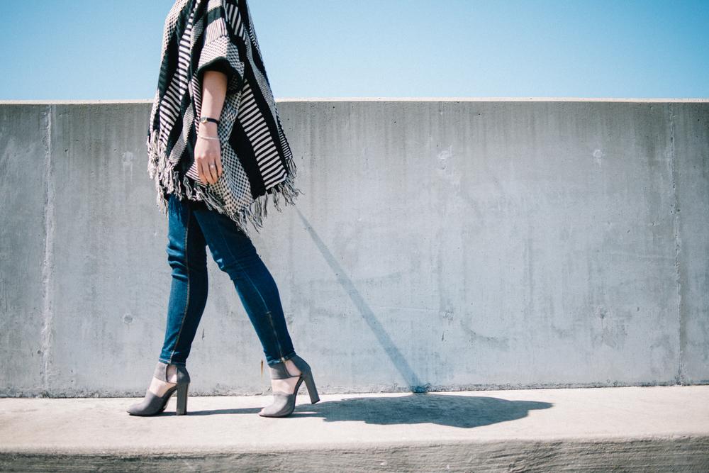 melissademata.com | TOBI Cardigan & Heels