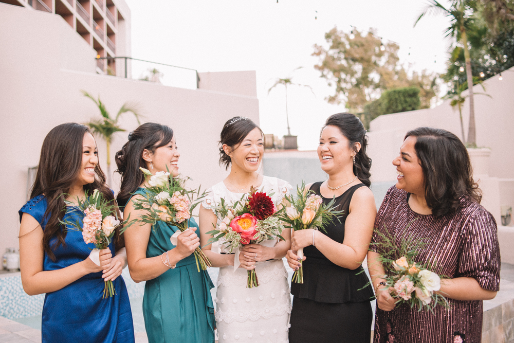 melissademata.com | Amy & Andrew Wedding Bridesmaids