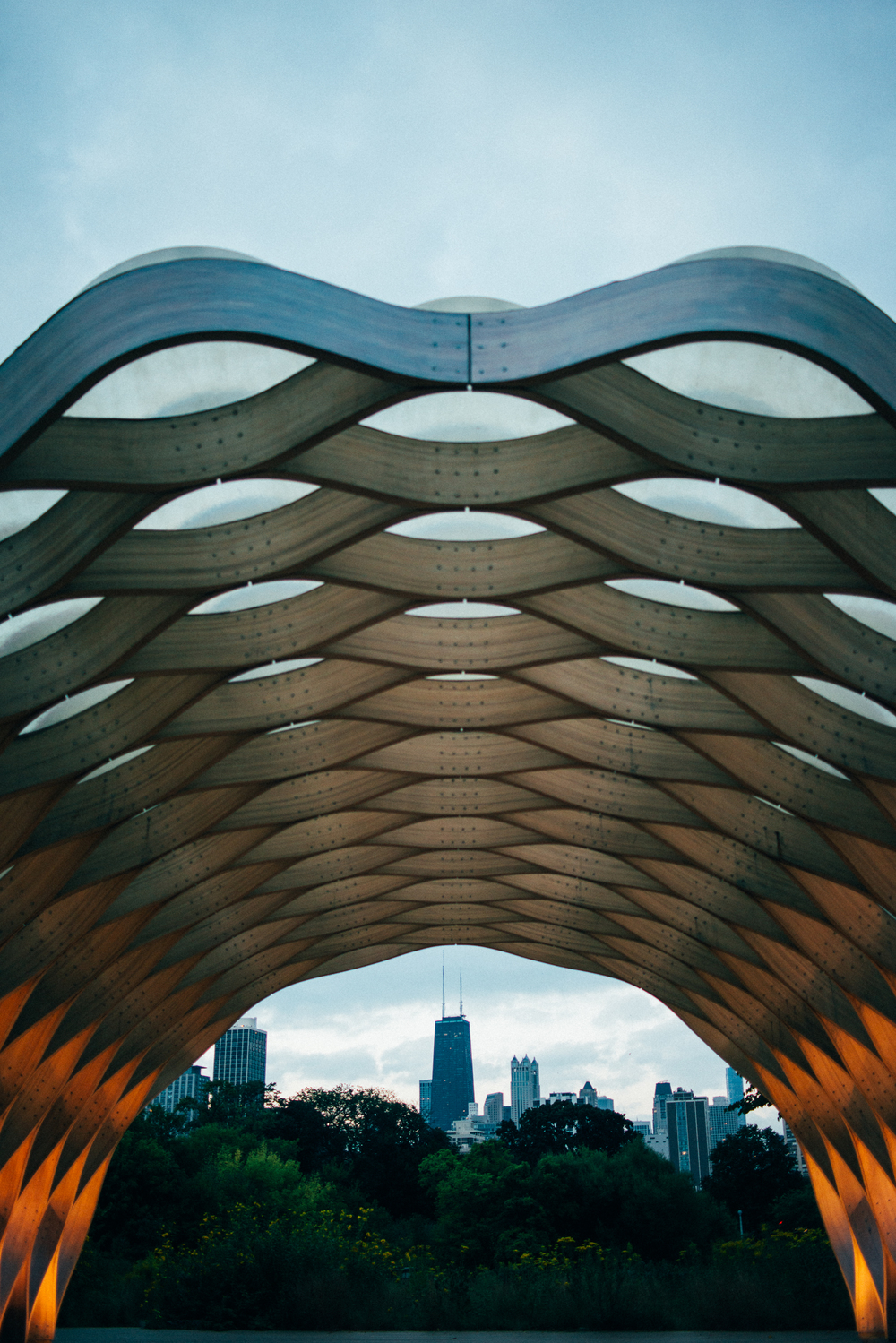 "melissademata.com | Chicago Landmark - ""Honeycomb"""