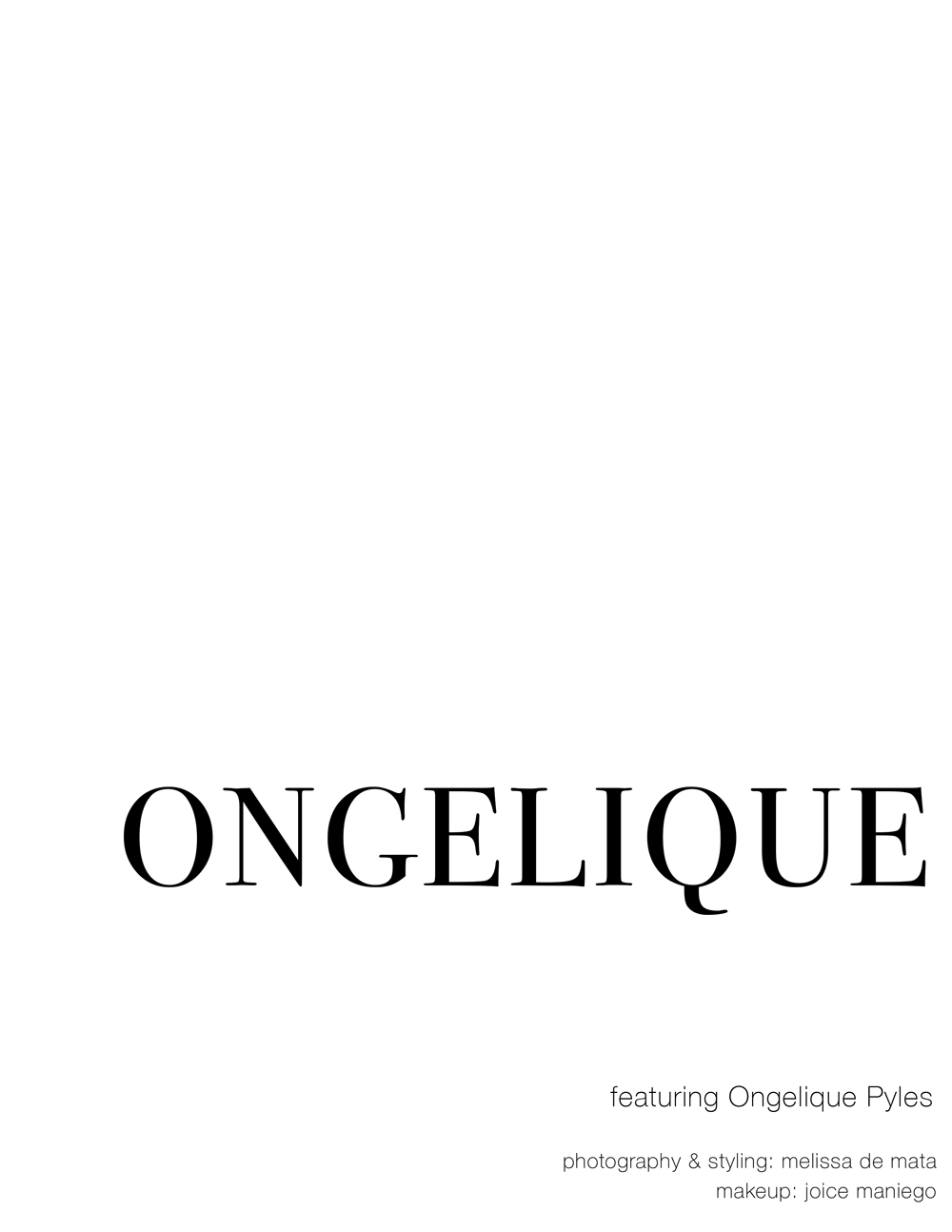 melissademata.com | Style Editorial - Ongelique