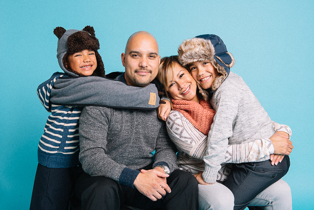 melissademata.com | Family Holiday Photo Shoot