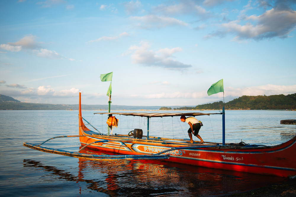 melissademata.com | Taal Lake