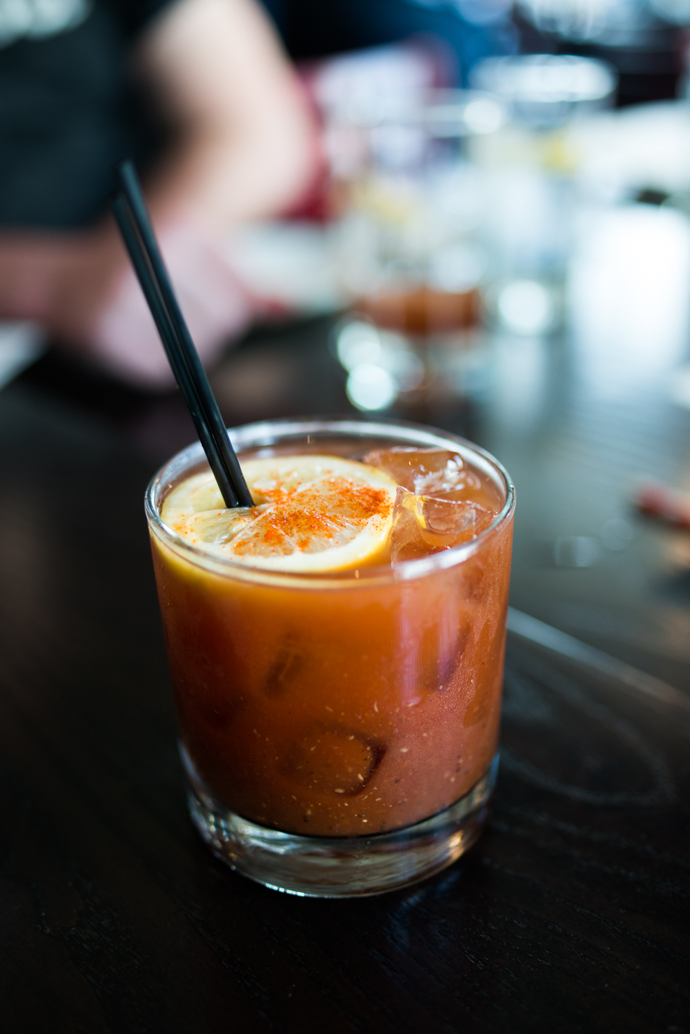 www.melissademata.com | Hog & Rocks Brunch - Bloody Mary