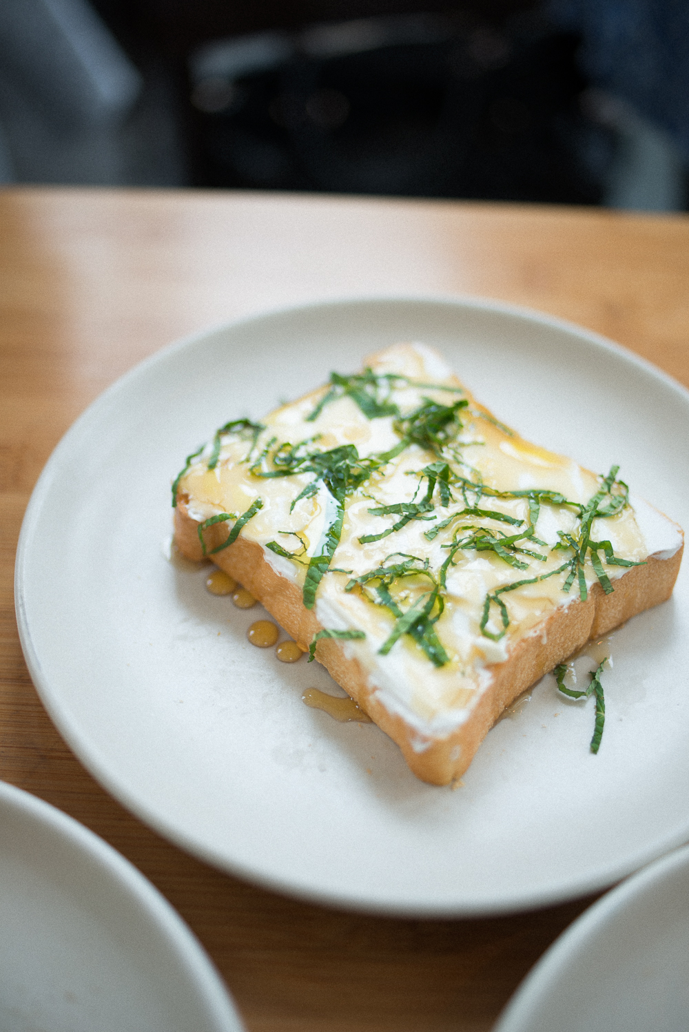 YOGURT HONEY MINT TOAST