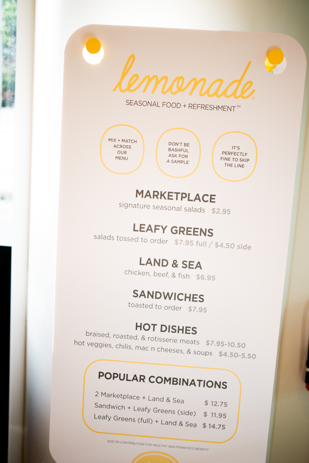 melissademata.com | Lemonade Restaurant, San Francisco