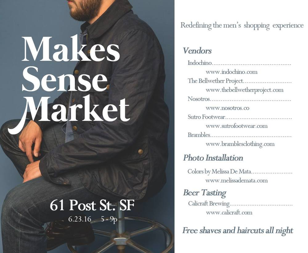 Makes Sense Market | San Francisco Menswear Event