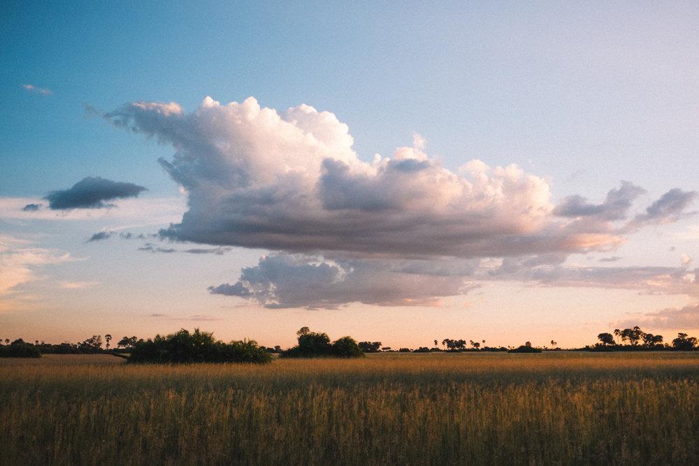 melissademata.com | Abu Camp Okavango Delta Botswana - African Sunset