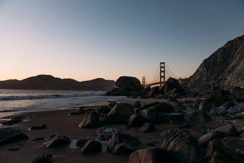 San Francisco Golden Gate Bridge | Marshall's Beach