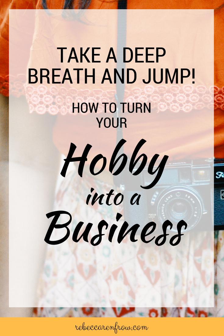 her little hobby turned into a side hustle that quickly turned into a full time business this full time profitable business allowed her the freedom to - Hobby Into Business Hobby Work Turning Hobby Into Business