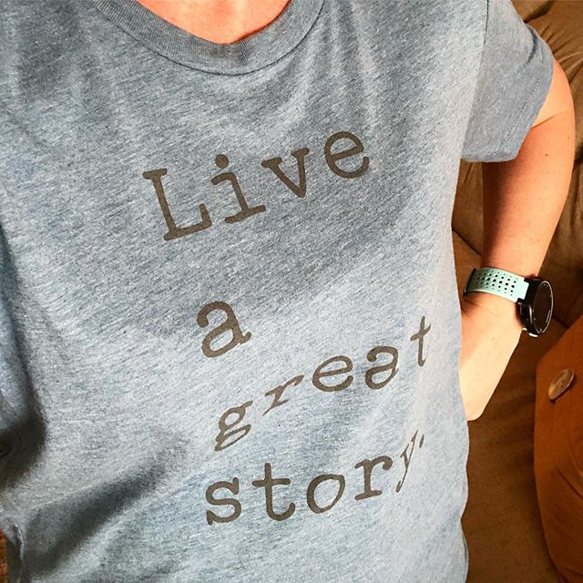 Loving my new tee from @honeybirdtees. ❤️ #yourstorymatters