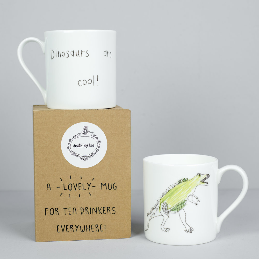 'Dinosaurs Are Cool' Mug