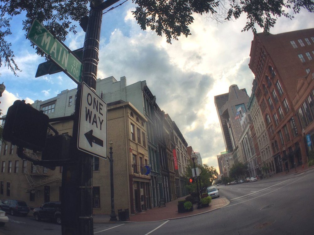 On the 700 block of Main Street in Louisville, CNET and the City of Louisville are launching a powerful new partnership with big implications for smart cities and smart living spaces.   Photo credit: Jason Hiner