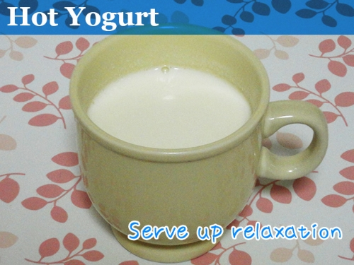 hot yogurt