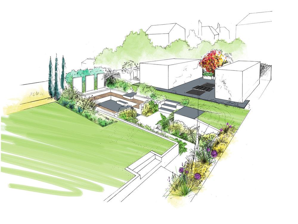 Allium Gardeners Loughton garden design