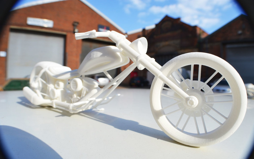 3D Printed Motocycle