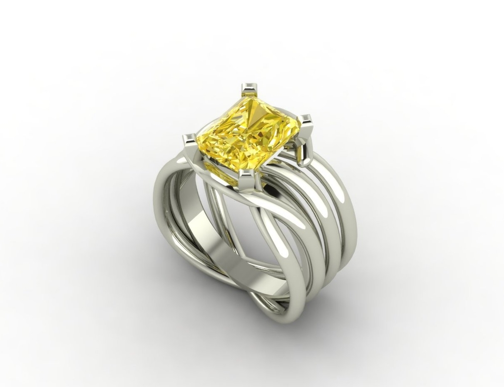 Celtic with Yellow Diamond
