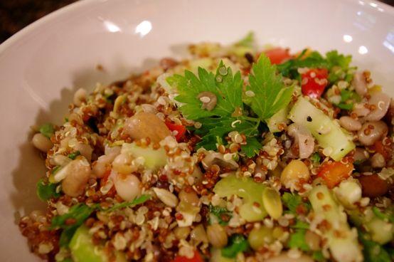 bean + quinoa