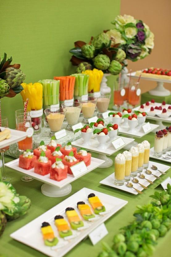 veg fruit buffet