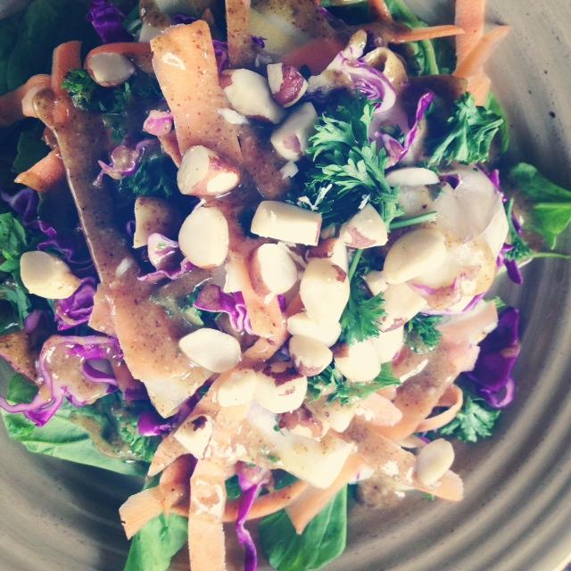salad peanut sauce