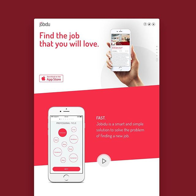 Jobidu - Find your job via xing account . . . #homepage #interface #mobile #design#application #ui #ux #webdesign #app#userinterface #photoshop#userexperience #inspiration#materialdesign #uxdesignmastery#creative #dribbble #pixel #behance#appdesign #sketch #designer #website#programming #art #work #concept#amazing #uxdesigning #uxigers