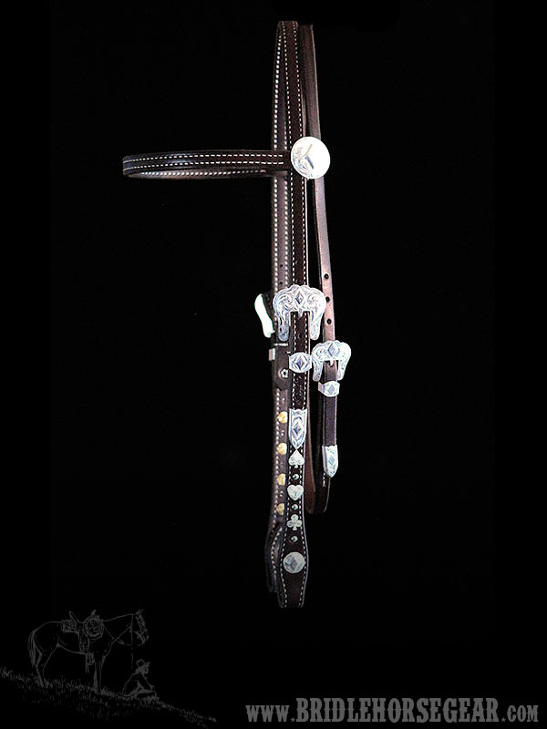 "5/8"" BROWBAND HEADSTALL"
