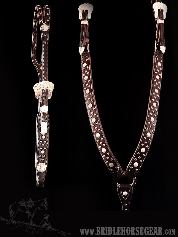 Custom Matching Headstall & Breastcollar