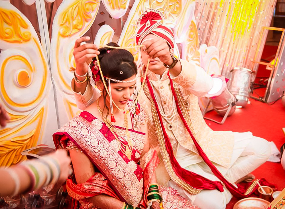 Indian Wedding Rituals -  Managalsutra Ceremony