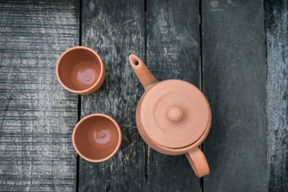 Clay Teapots from Tapri