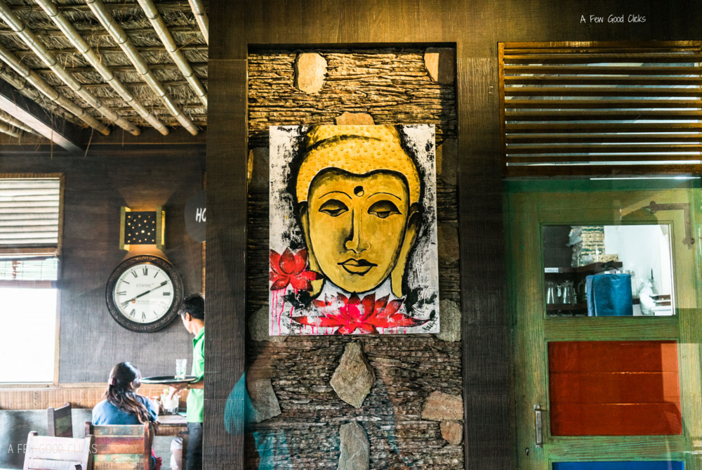 The Buddha Painting | Image by  California based Restaurant Photographer