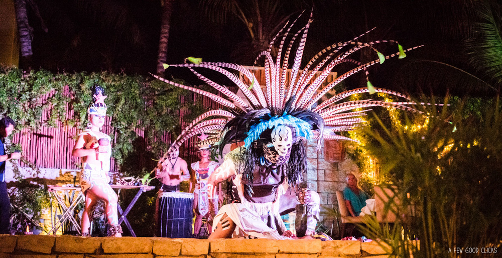 The Sacrifice |Bay Area based restaurant photographer A Few Good Clicks captures the sacrifice during Mayan show