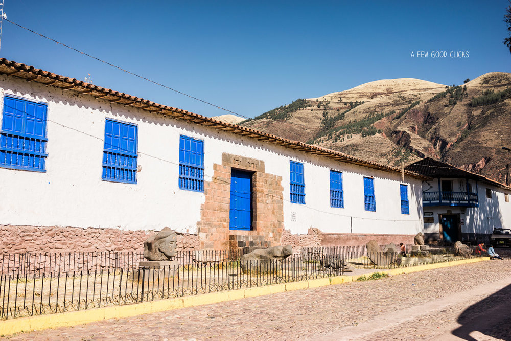Peru's best kept secret - town of Andahuaylilas.