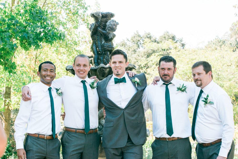 gromm-with-bestmen-poses-elliston-winery-autumn-wedding-photography-sunol