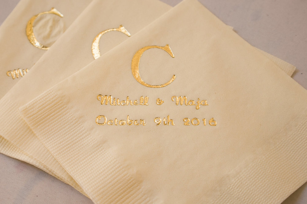 Wedding stationery inspiration found on tissue paper.