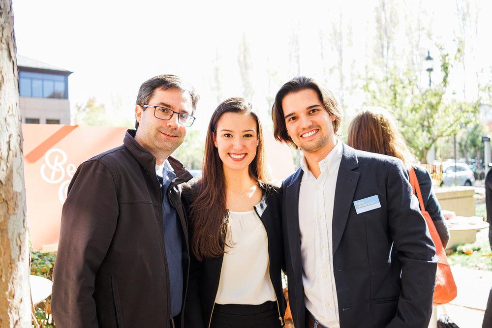 Eric Santos, Roberta Vasconcellos & Perdro Vasconcellos - Team behind Beer or Cofffe, Brazil