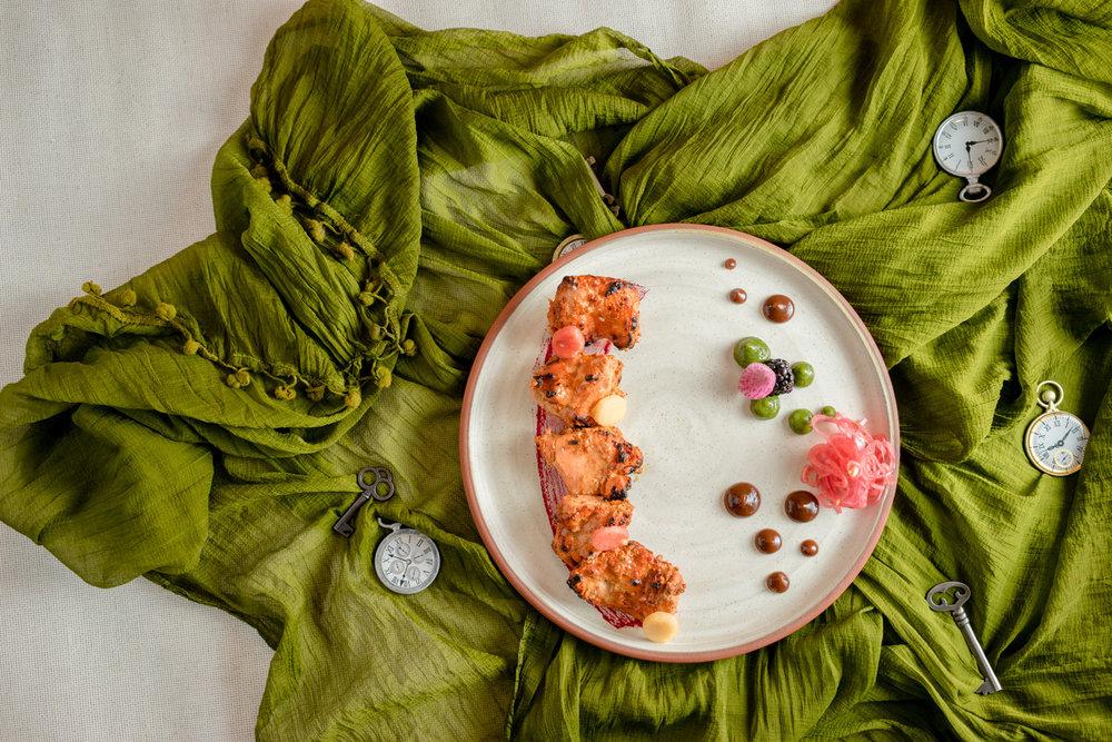 Chicken tikka kebabs by Chef Ajeet Mehta