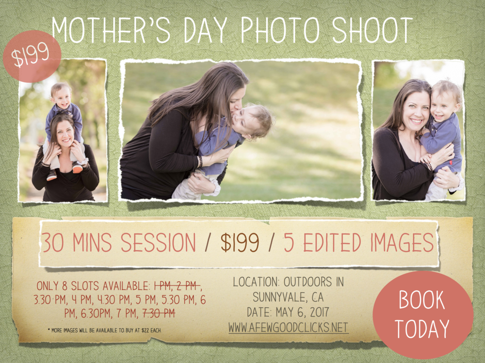 Mother's Day Photo shoot by A Few Good Clicks