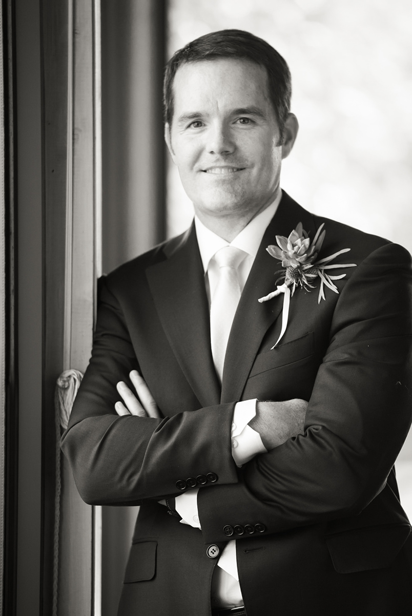 The Groom portraits at Rosewood Sandhill in Palo alto