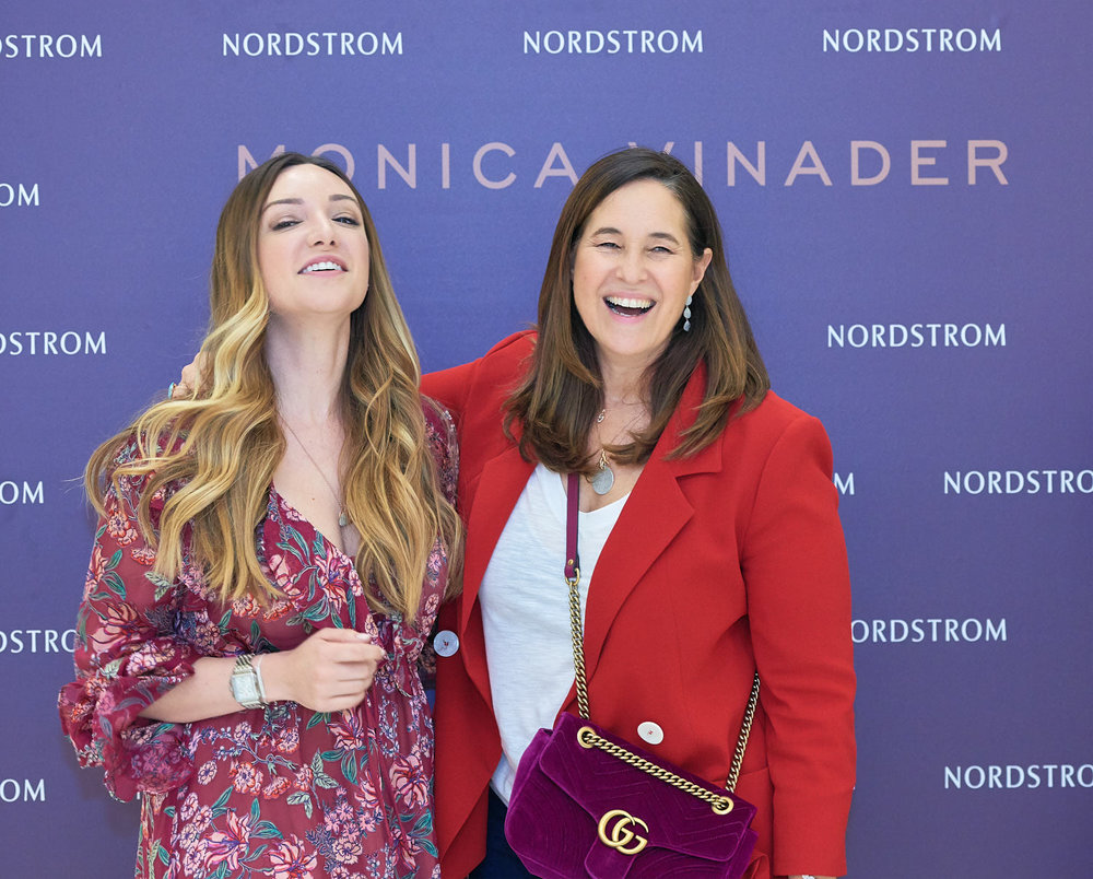 Classic portraits at Nordstrom event.